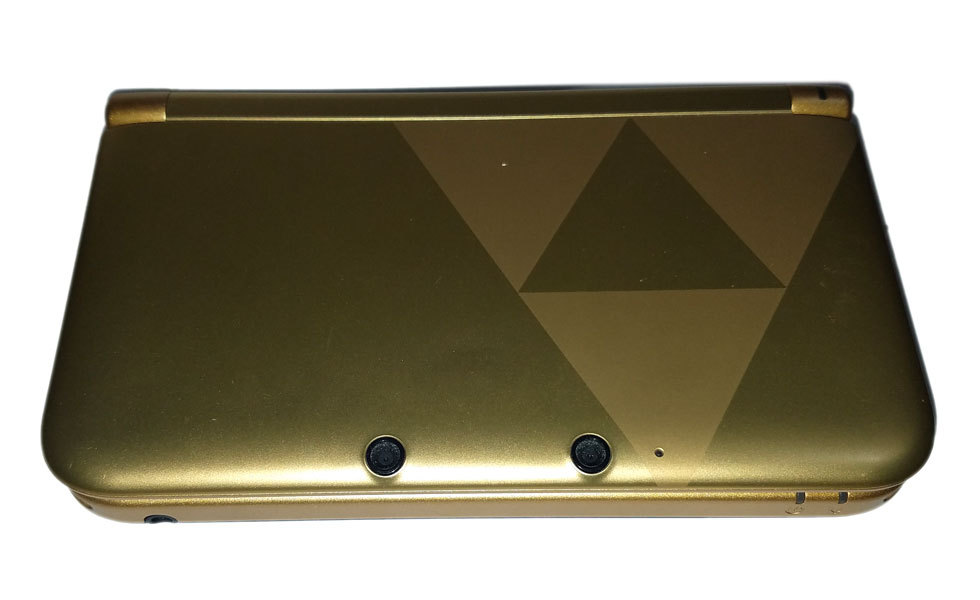 Nintendo 3DS XL Console / System Only Legend of Zelda Triforce Edition * Used