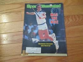 Sports Illustrated Magazine John McEnroe Wimbledon Champion 1984 - $12.99