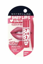 Maybelline New York Baby Lips Lip Balm, Cherry Kiss, 4gm - $14.24