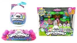 Hatchimals Playset, Non-Exclusive 12 Colleggtibles, Mystery Mini Clip-On... - $178.50