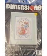 Dimensions Stamped Cross Stitch Bathtub Bears #3100 - $11.57