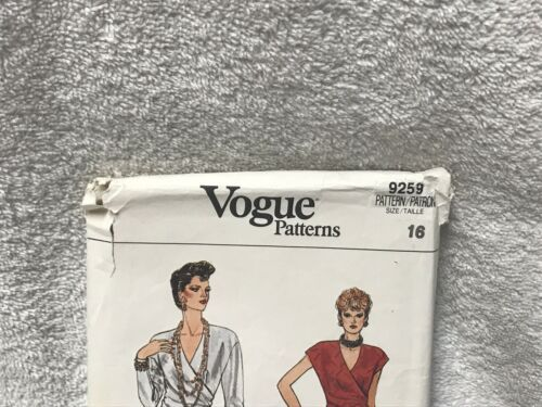 Vogue 9259 Misses Evening Dress Vintage Sewing Pattern image 2