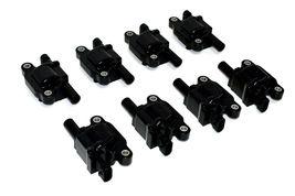 "Chevy GMC GM LS LSX LS1 LS2 LS3 LS6 8 Coils & 11"" 8mm Red Spark Plug Wires D510C image 3"