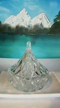 1994 HFC CRYSTAL GLASS HERSHEY KISS CANDY DISH ... - $19.80