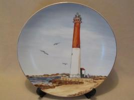 Barnegat Lighthouse Collector Plate Lefton M Lingle Historic American Lighthouse - $24.99