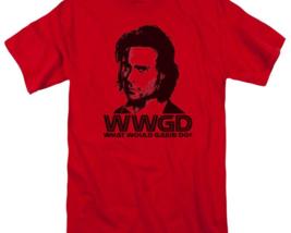 Battlestar Galactica WWGD Sci-Fi TV series graphic red adult t-shirt BSG220 image 2