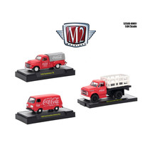 Coca-Cola Release 1, Set of 3 Cars Limited Edition to 4,800 pieces World... - $47.98