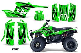 ATV Graphics Kit Decal Sticker Wrap For Polaris Trail Boss 330 04-09 FADE GREEN - $168.25
