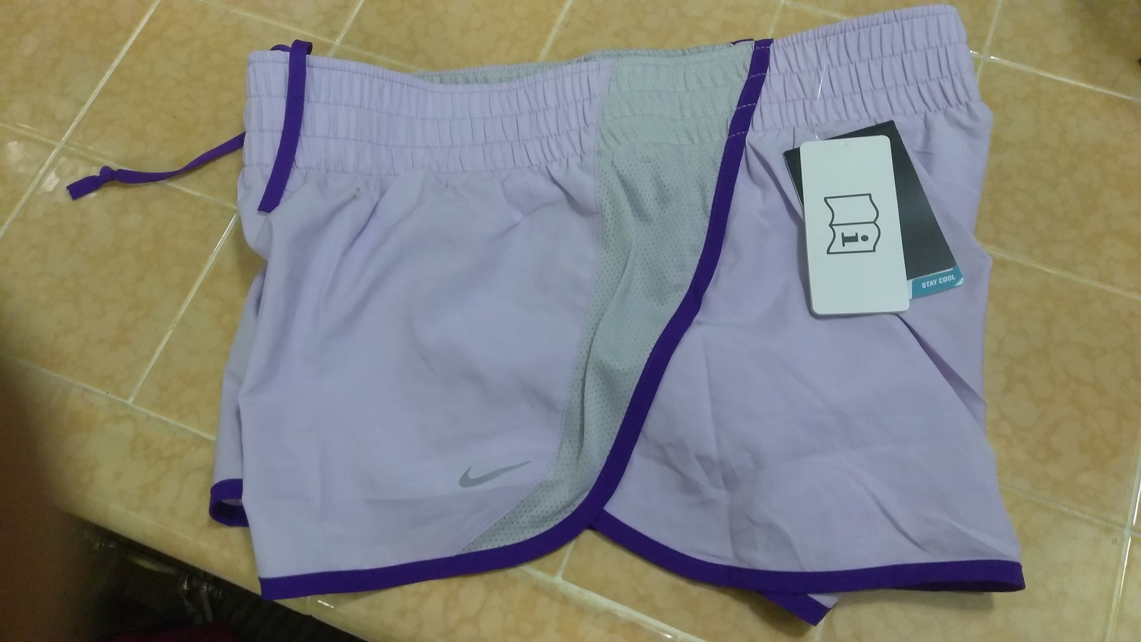 Primary image for New Nike Unisex All Sports Shorts Light Purple Design Sz M