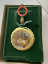 Hallmark 1982 Baby's First Christmas Ornament Rattle - $42.05