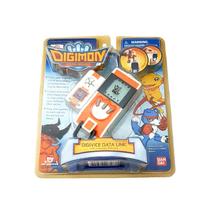 Bandai Digimon Savers Data Squad Digivice DataLink Orange Color English Version - $259.00