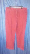 Burgandy Ralph Lauren Corduroy 38/30 pants - $45.00