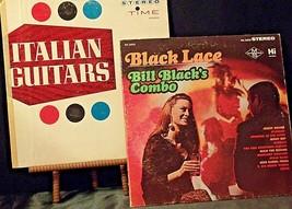 Bill Black's Black Lace & Al Caiola Orchestra Italian Guitars AA20-RC2130 Vintag
