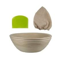 Sourdough Proofing Basket Set by Luxurie Kitchen - 9 Inch Banneton Bread... - $16.47