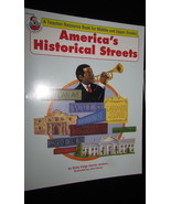 America's Historical Streets Jenkins teacher resource book middle upper ... - $6.99