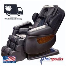 Luraco Black iRobotics i7 3D Zero Gravity Massage Chair + White Glove De... - $171.626,57 MXN