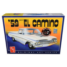 Skill 2 Model Kit 1959 Chevrolet El Camino 2 in 1 Kit Original Art Serie... - $50.93