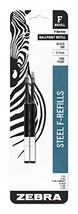 Zebra F-Series Ballpoint Stainless Steel Pen Refill, Fine Point, 0.7mm, ... - $5.47