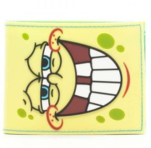 SpongeBob SquarePants: Big Face Bi-Fold Wallet Brand NEW! - $19.99