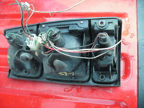 91-97 rodeo/94-97 passport left side taillight assembly