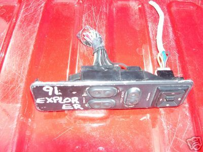 91 Ford Explorer  2 Dr Leftside Window/Mirror switch