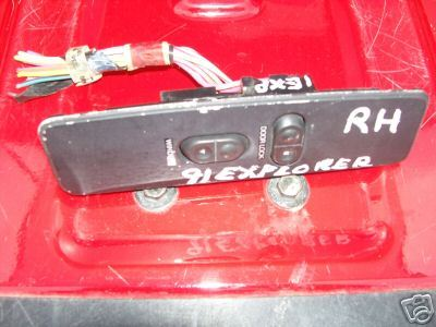 91 Ford Explorer Rightside Window/Lock Switch