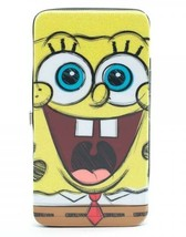 SpongeBob SquarePants: Bob Big Face Juniors Hinge Wallet Brand NEW! - $23.99