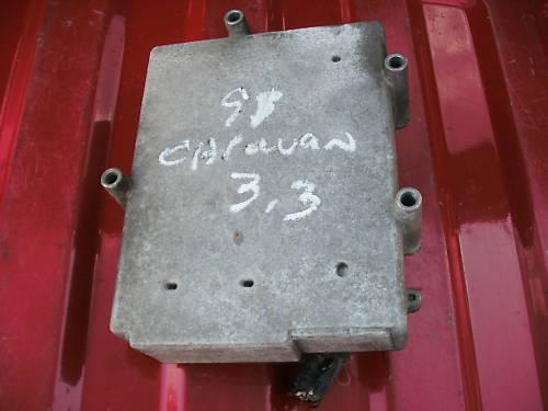 91caravan/voyager 3.3 trans computer