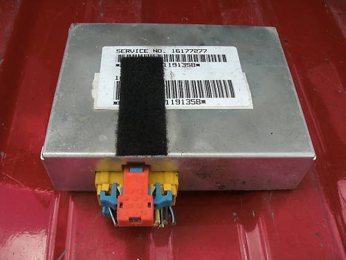 92-93 gm air bag control module  service # 16177277