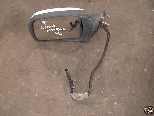 92-94 crown victoria/grand marquis left side mirror