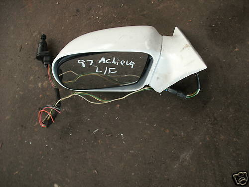 92-98 achieva left side power mirror white