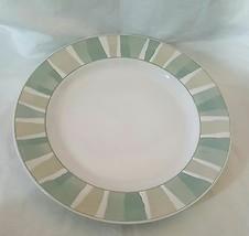 Sakura Port Of Call Segments Green Large Round Serving Platter Chop Plate - $14.01