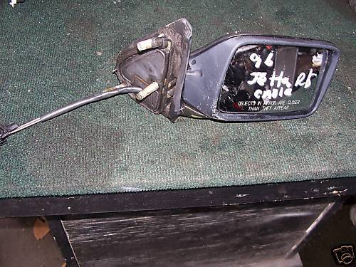 93-98 jetta/golf right side door mirror cable operated