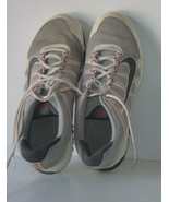 Nike Air w/Laces Size 11 Men's Used Athletic Shoes Gray and Red  - $40.10