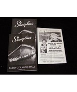 Showplace Radio City Music Hall Rockefeller Center Program 9/29/60 Doris... - $19.99