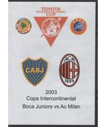 Copa Intercontinental Boca Juniors vs Ac Milan 2003 DVD - $28.49