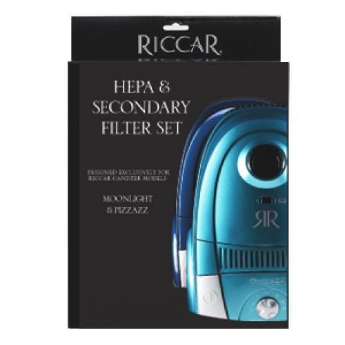 Riccar HEPA & Secondary Filter Set for Moonlight & Pizzazz - RF13 - $28.95