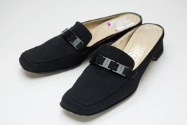Salvatore Ferragamo 7 AA Black Slip On Women's Shoes - $46.00