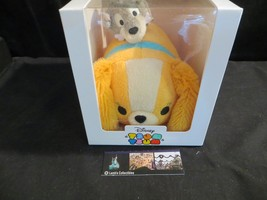 Disney Store Authentic Tsum Tsum mini Lady & the Tramp aug 2016 box  - $80.74