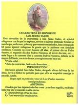 Oraciones Poderosas en Honor San Tudas Tadeo image 4