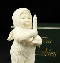 Department 56 Snowbabies Just One Little Candle Mint in Box - $12.64