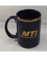 MTI Ceramic Coffee Mug Promo Advertising Manufacturing Technology Inc 12... - $8.45