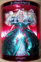 1995 HAPPY HOLIDAY BARBIE  NRFB Great Box - $35.50