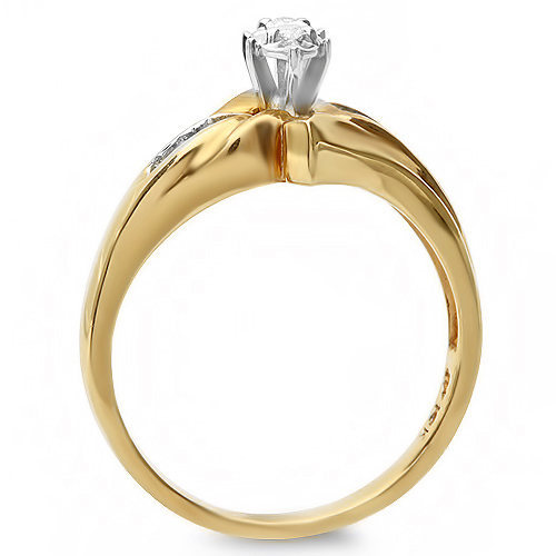 .40 ctw Diamond Engagement ring set 10k gold