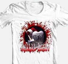 Silent Night Deadly Night T-shirt 80s classic Christmas horror slasher movie tee image 1