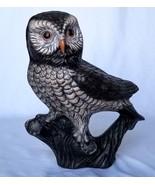 Beautiful Stunning Decorative Large Ceramic OWL Bird Figurine a Wisdom S... - $15.84