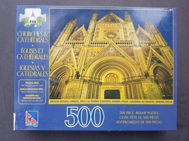 Orvieto Duomo Umbria Italy 500 Count Jigsaw Puzzle Churches & Cathedrals... - $52.25