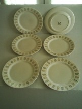 "METLOX POPPYTRAIL PEPPER TREE Plates Dinner Salad, Set of 6, 10 ½"" - EXC... - $44.55"