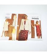 Vogue Wardrobe V2909 Wardrobe Jacket Dress Blouse Pants Skirt 6 8 10 ❤️ - $14.99