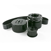 A-Team Performance Long Water Pump Gilmer Style Pulley Kit Compatible with Chevr